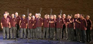 """Arena Sferisterio, 27 agosto 2014 Concerto insieme all'Orchestra Sinfonica """"Monteverdi"""""""