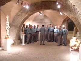 Concerto agli Antichi Forni nell'ambito della Mostra di sculture di Urbano Riganelli