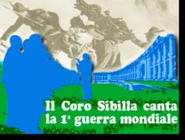Coro Sibilla canta la prima guerra mondiale