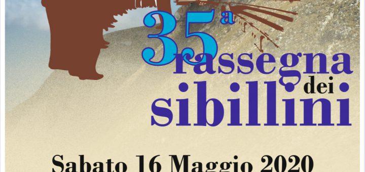 35 rassegna sibillini manifesto